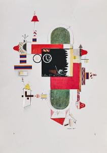 Sonderausstellung: Rudolf Bauer im Rebay-Haus, 30.9.2017-28.1.2018
